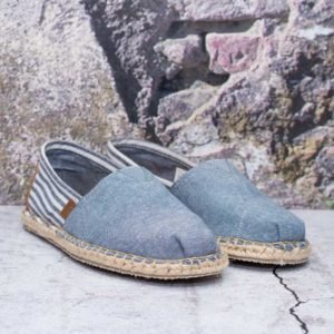TOMS BLANKET STITCH ALPARGATA (CHAMBRAY)