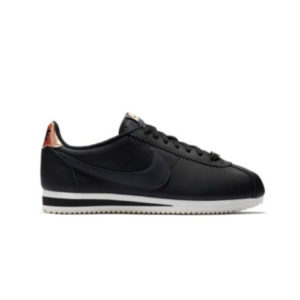 NIKE WMNS CLASSIC CORTEZ LEATHER BLACK/ANTHRACITE