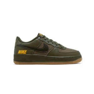 NIKE AIR FORCE 1 LV8 5 (GS) MEDIUM OLIVE/SEQUOIA