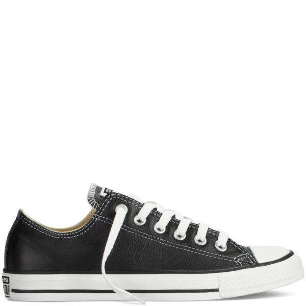 CONVERSE CT OX BLACK LEATHER
