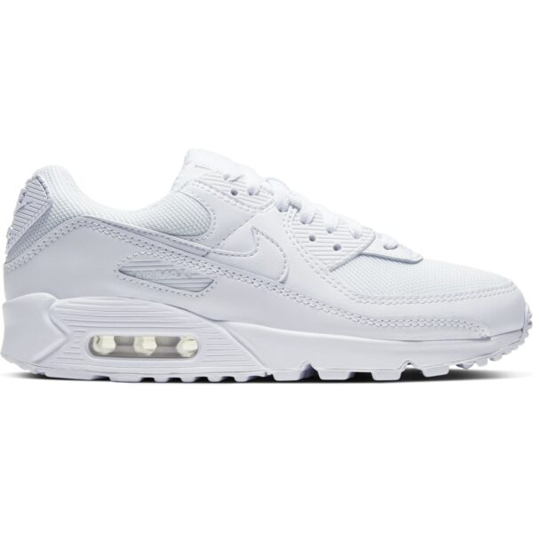 NIKE W AIR MAX 90 WHITE/WHITE-WHITE WOLF GREY