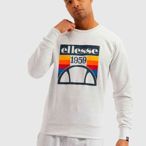 ELLESSE TUCCI SWEAT WHITE MARL