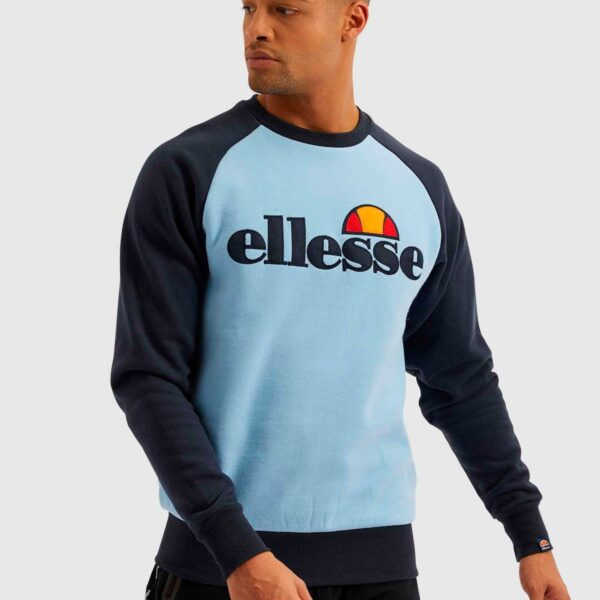 ELLESSE TRIVIAMO SWEAT LIGHT BLUE