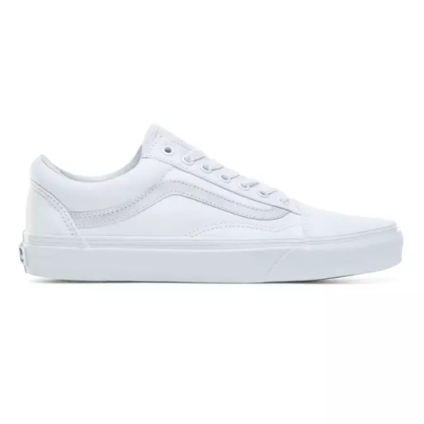 VANS UA OLD SKOOL TRUE WHITE