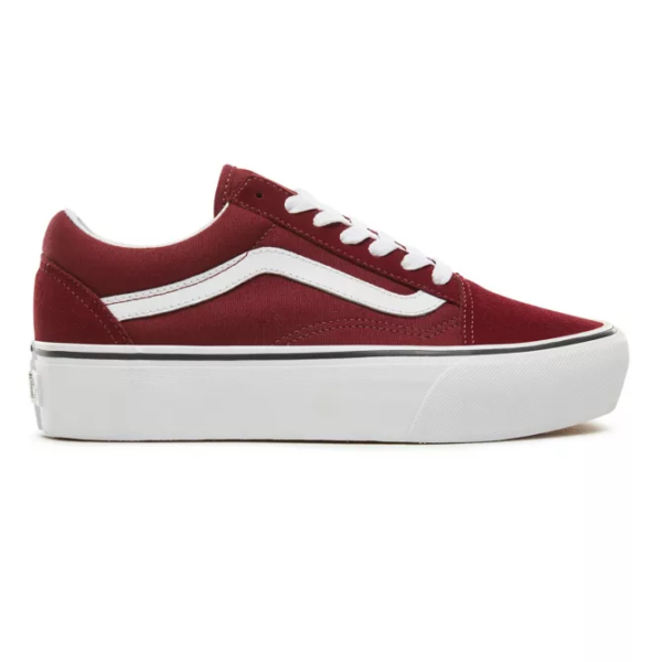 VANS UA OLD SKOOL PLATFORM PORT ROYALE/ TRUE WHITE