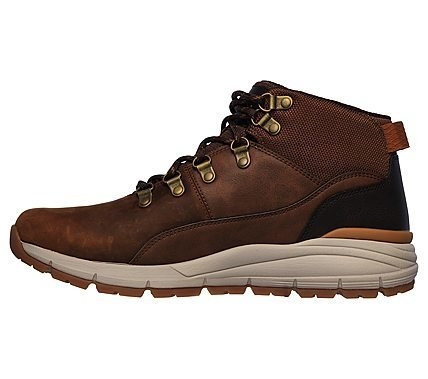 SKECHERS VOLERO MERIX DARK BROWN