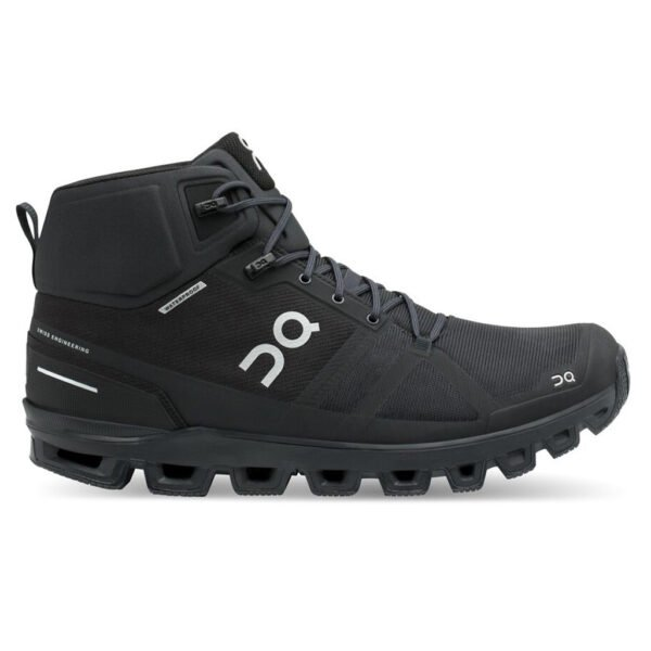 ON CLOUDROCK MAN WATERPROOF ALL BLACK