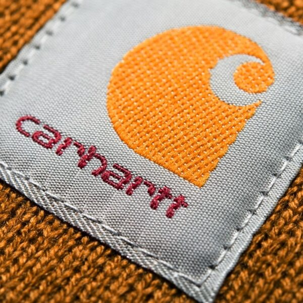 CARHARTT WIP ACRYLIC WATCH HAT HAMILTON BROWN