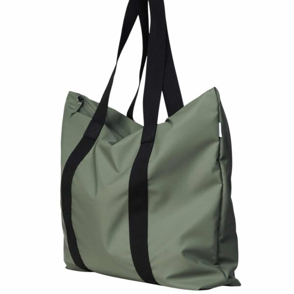 RAINS TOTE BAG OLIVE
