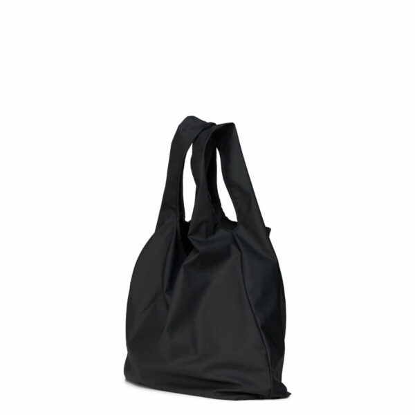 RAINS MARKET BAG BLACK